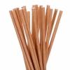 Трубочки для напитков бумажные 240*8 мм