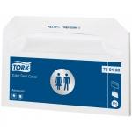 Покрытия бумажные на унитаз Tork Advanced, V1