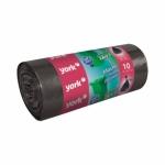 Мешки для мусора 240л. 10шт/рулон цв. черный, прочные
