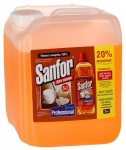 Средство моющее для полов Sanfor