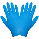 Перчатки нитриловые неопудренные одноразовые