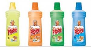 Моющая жидкость для полов и стен Mr.Proper
