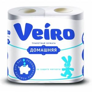 Бумага туалетная Veiro Домашняя