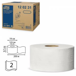 Бумага туалетная TORK Advanced Т2 в мини-рулоне