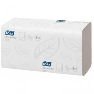 Полотенца бумажные TORK Advanced ZZ для диспенсера H3