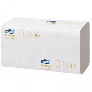 Полотенца бумажные TORK Xpress Premium листовые сложения ультрамягкие, Н2