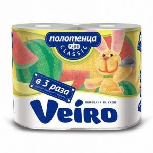 Полотенца бумажные Veiro Classic Plus 37,5 метров