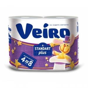 Бумага туалетная Veiro Standart Plus 30 метров в рулоне