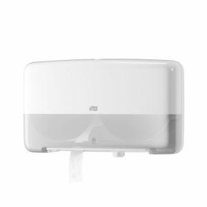 Диспенсер TORK Т2 для туалетной бумаги в мини рулонах двойной