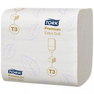 Бумага туалетная листовая TORK Premium Т3