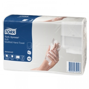 Полотенца бумажные TORK Advanced, Н2