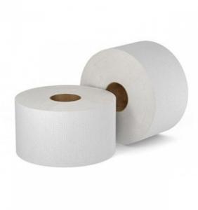 Бумага туалетная в средних  рулонах