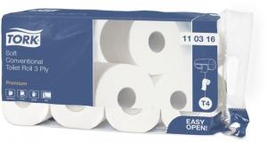 Бумага туалетная TORK Premium Т4