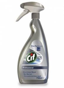 Средство чистящее для нержавеющей стали Cif Stainless Steel Cleaner