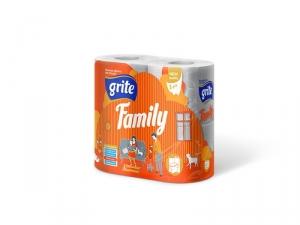 Бумага туалетная GRITE family