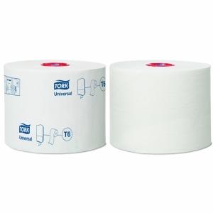 "Бумага туалетная ""Universal Т6 Mid-size"" в миди-рулонах"