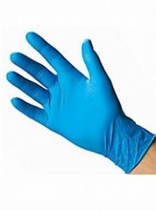 Перчатки нитриловые неопудренные одноразовые текстурированные Nitrylex