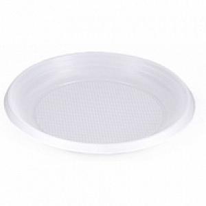 Пластиковая тарелка
