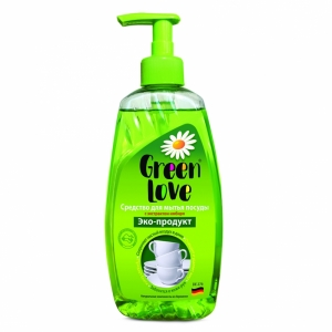 """Средство для мытья посуды """"Green Love"""" экологичное"""