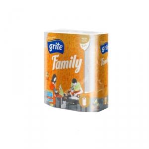 Полотенца бумажные GRITE Family