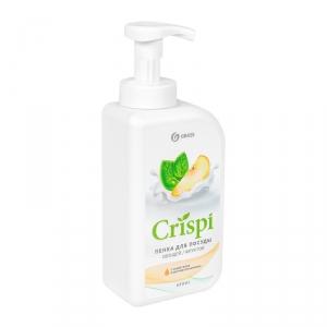 """Средство для мытья посуды """"CRISPI"""" пенка с соком груши и экстрактом базилика"""