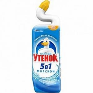 """Средство чистящее для сантехники """"Туалетный Утенок 5 в 1"""""""