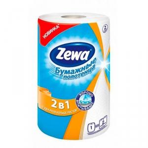 Полотенца бумажные Zewa 2в1