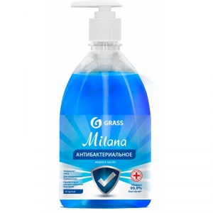 Мыло жидкое Milana антибактериальное, 500 мл