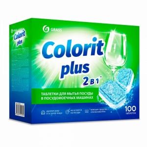 """Средство для мытья посуды в посудомоечной машине """"Colorit Plus"""""""