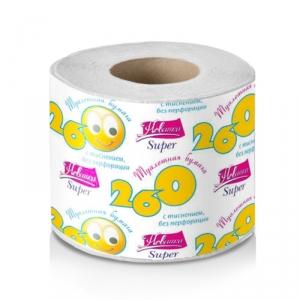 Бумага туалетная со втулкой, вторсырье