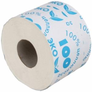 Бумага туалетная со втулкой, целлюлоза