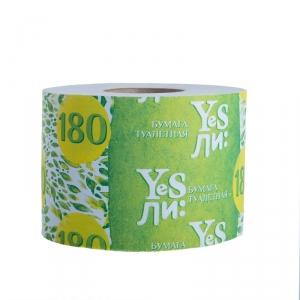 Бумага туалетная   Yesли: со втулкой, 180г