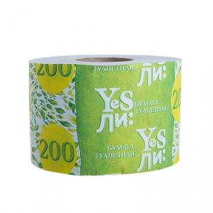 Бумага туалетная   Yesли: со втулкой, 200г