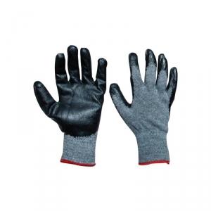 Перчатки трикотажные нейлоновые с нитриловым покрытием