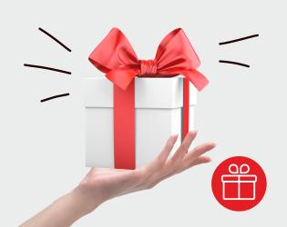 Весенние подарки за сумму заказа!